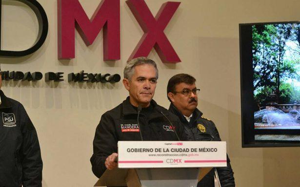 Mancera desconoce paradero de policías fugitivos en caso de Marco Antonio Sánchez