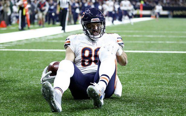 Zach Miller de los Bears podría perder la pierna tras impactante lesión