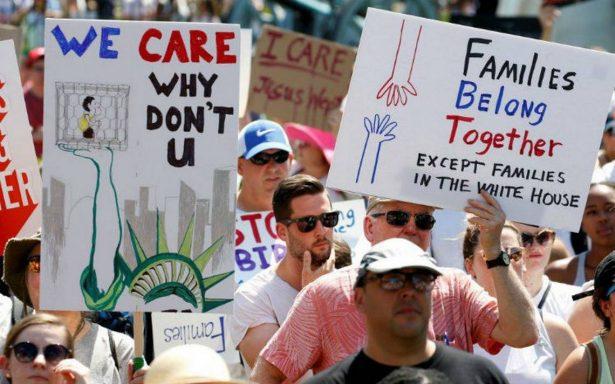 Juez de EU ordena frenar temporalmente las deportaciones de familias reunificadas