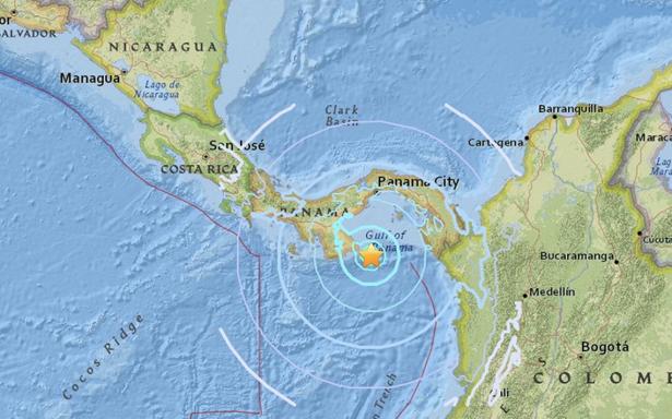 Panamá registra sismo de 6.6 grados, descartan alerta por tsunami