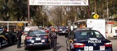 Frustran robo en el IPN; pretendían llevarse vales de trabajadores
