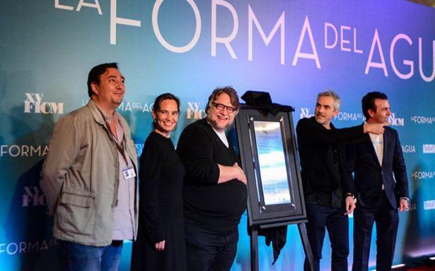 'La forma del agua', la mejor película de Guillermo del Toro: Alfonso Cuarón