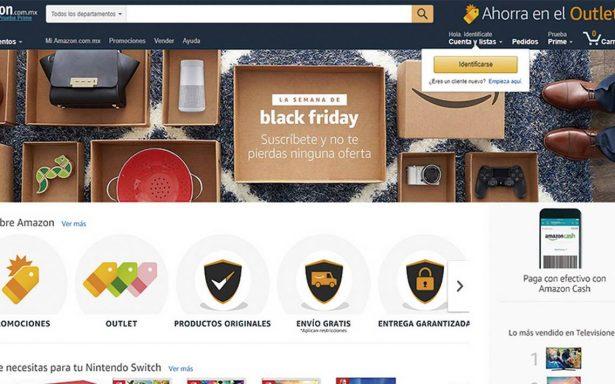 Tras El Buen Fin, Amazon prepara Black Friday para México