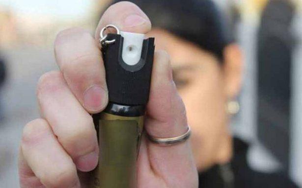 Según la policía de Puebla, si cargas gas pimienta para defenderte podrías ser arrestada