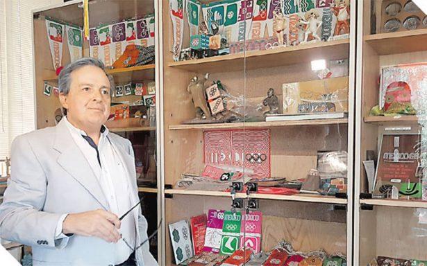 Pedro Ramírez Vázquez una pieza clave para la realización de los Juegos Olímpicos México 68