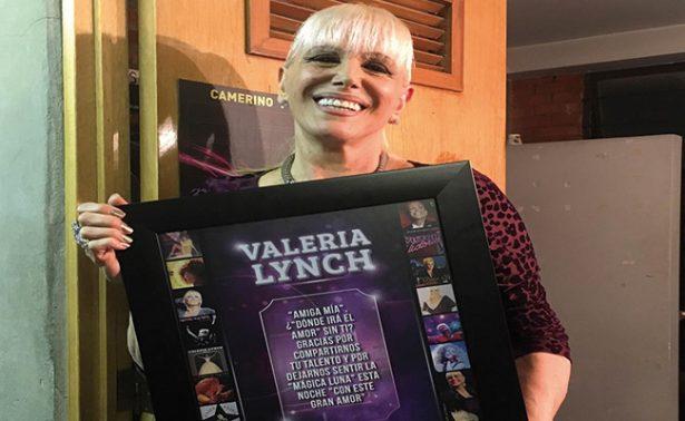 """""""Soy una artista de riesgos"""", afirma Valeria Lynch en su regreso a México"""