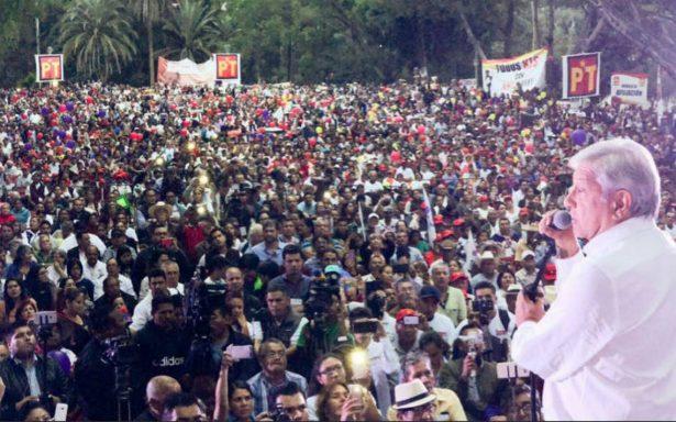 AMLO prometió en Nayarit eliminar pensiones de expresidentes
