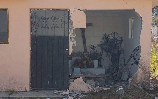 Para esconderse, huachicoleros destruyen tumbas de panteón en Puebla