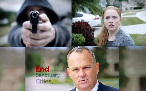 [Video] Legislador republicano infunde miedo en Florida con video de 'inmigrante' disparando a mujer
