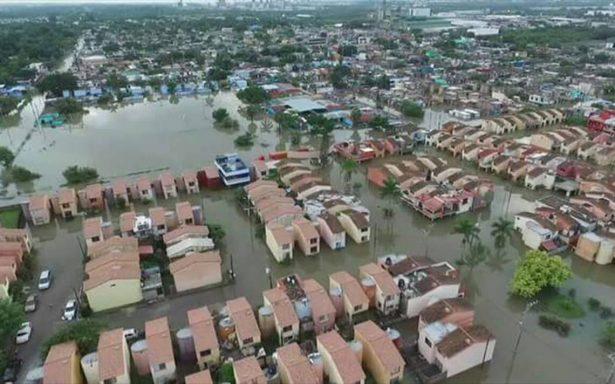Segob emite declaratoria de emergencia en Altamira por lluvias