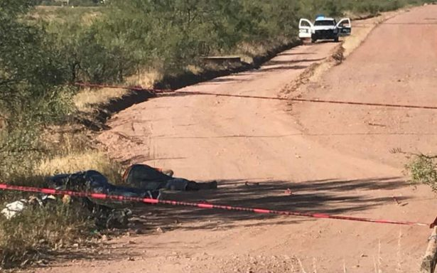 Hallan cuatro cuerpos en la carretera Chihuahua-Juárez