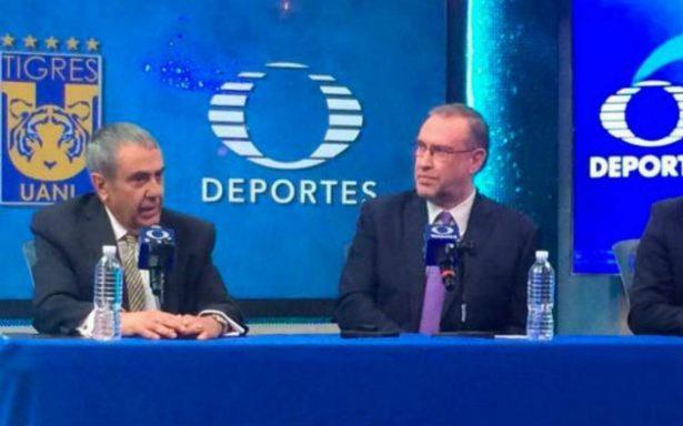 Tigres y Televisa, cinco años más juntos