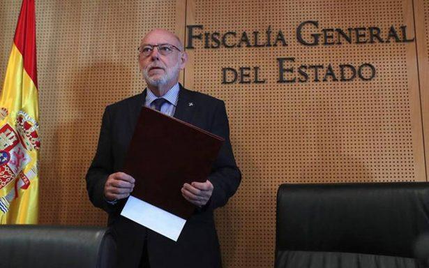 Fiscalía española acusa rebelión del destituido gobierno de Cataluña