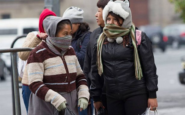 Prevén marcado descenso de temperatura por frente frío número 14