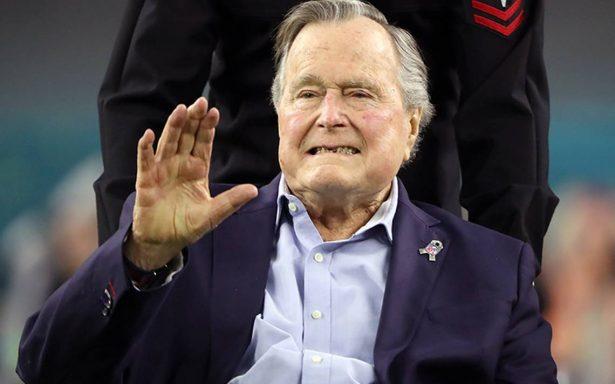 Expresidente George H.W. Bush sufre episodio de fatiga y es hospitalizado nuevamente