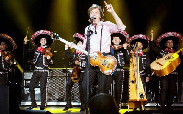Paul McCartney listo para su concierto hoy en la capital