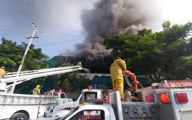 Incendian oficinas de Educación de Chiapas
