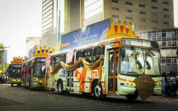 Esta noche el transporte público será gratis para los Reyes Magos