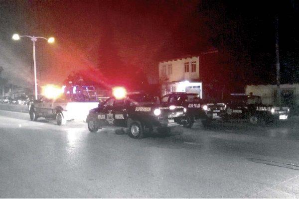 Balacera y  persecución en Nogales
