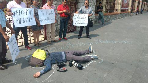 Resultado de imagen para Se suman periodistas de la zona centro EN ORIZABA por el asesinato de periodista