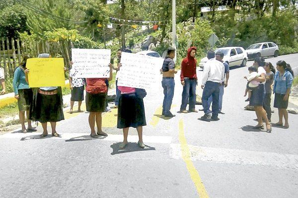 Incompetencia de delegado, no resuelve conflicto carretero