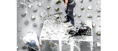 Realizan limpieza en El Chirimoyo
