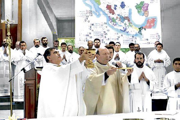 Exhorta nuncio apostólico a que los fieles sean una iglesia misionera