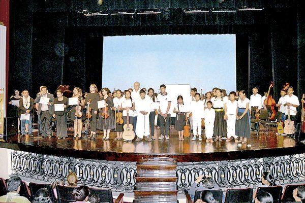 Exitosa presentación de la Orquesta Francisco Gabilondo Soler