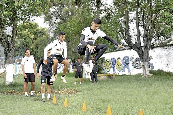 Benjamines  de Albinegros aprieta sus entrenamientos