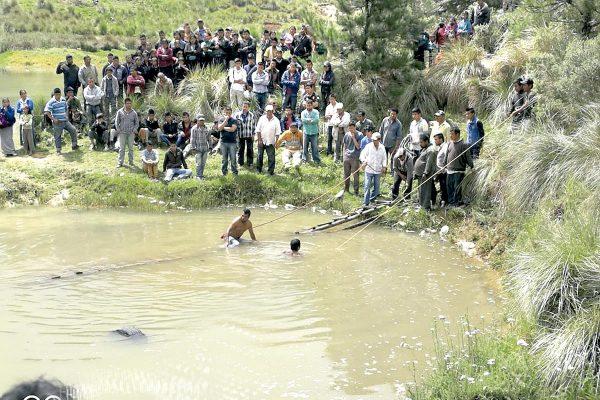 Niños se ahogaron en laguna
