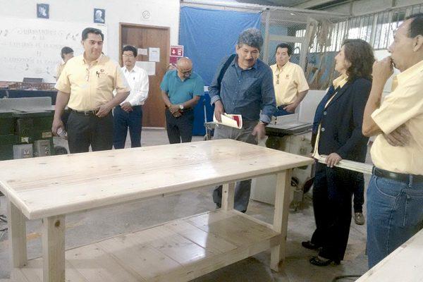 Renuevan convenio Mendoza y Cecati