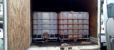 Decomisa la SSP gasolina robada