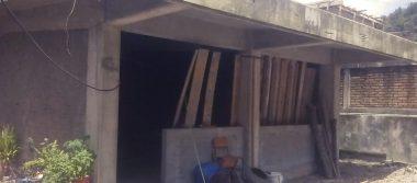 Construyen aulas  en escuela primaria
