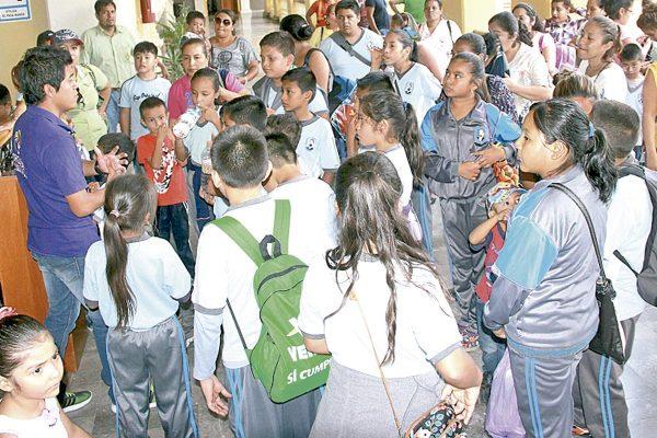 Reanudan visitas guiadas para niños