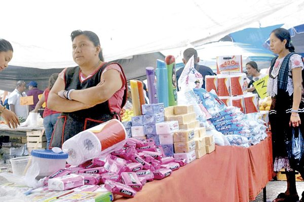 Comercio informal, imparable