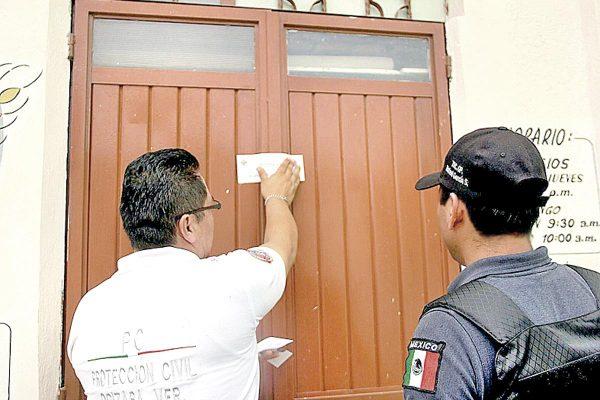 Suspende protección civil casa-hogar