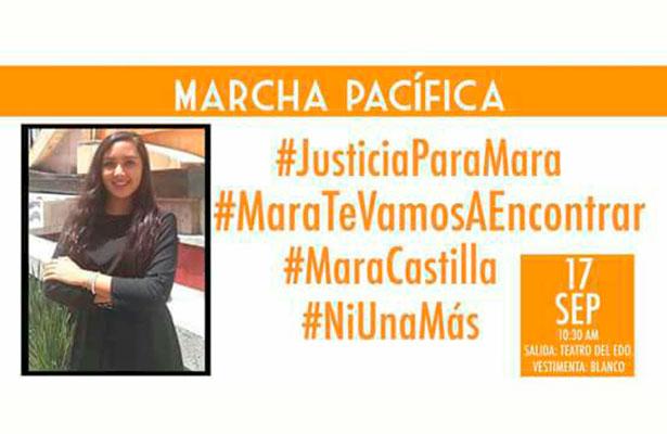 Xalapeños marcharán por la memoria de Mara Fernanda