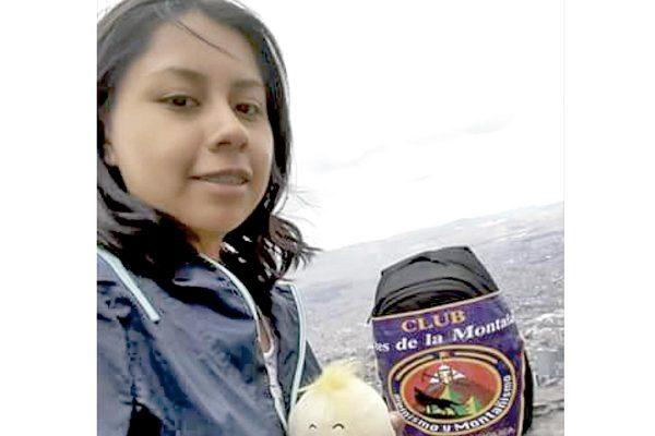 Conquistó montaña en Colombia
