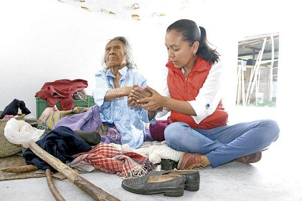 A sus 120 años la benefician con una casa-dormitorio