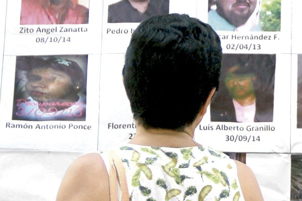 Búsqueda de desaparecidos requiere de voluntad política