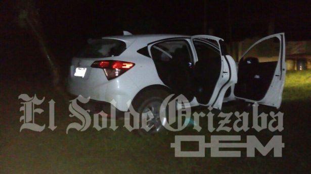Balacera en Río Blanco, aseguran dos vehículos