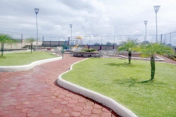 Crean cinco parques y  dos unidades deportivas