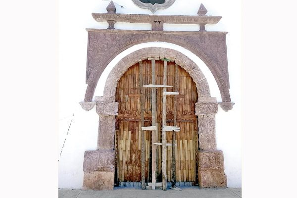 Clausura el INAH iglesia de Acultzingo