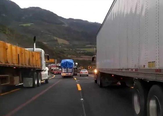 Aumentan robos y asaltos a camioneros