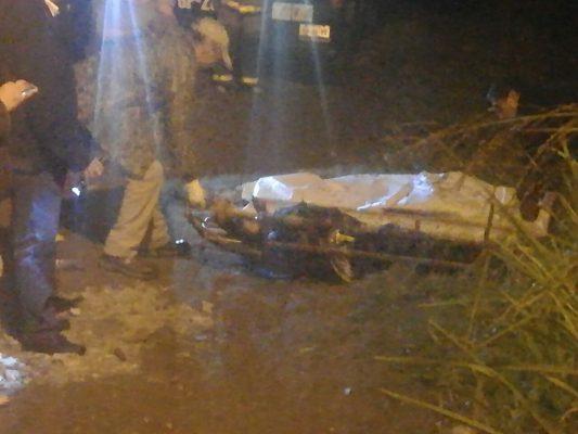 Lo encontraron muerto flotando en aguas negras, en Ciudad Mendoza