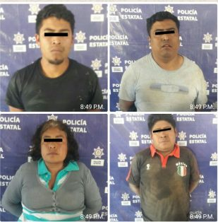 SSP detiene a 4 secuestradores y rescata a víctima en Nogales