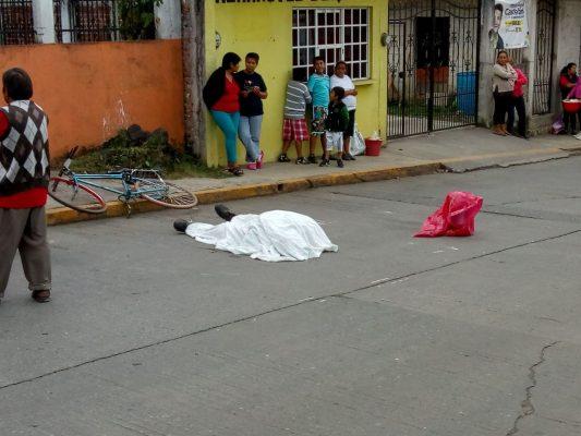 Muere en la vía pública, en Potrerillo