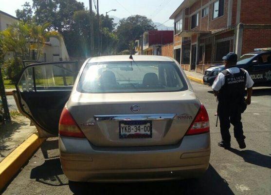 Secuestran a conductor en la Rafael Alvarado