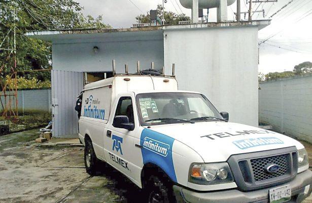 Violento intento de asalto en instalaciones de Telmex