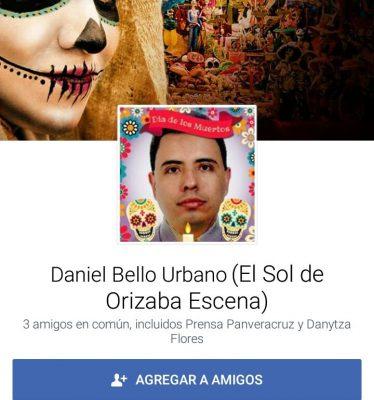 Daniel Bello Urbano no forma parte de El Sol de Córdoba-El Sol de Orizaba